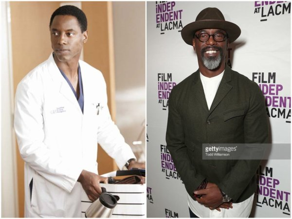 Dr Preston ( Isaiah Washington)