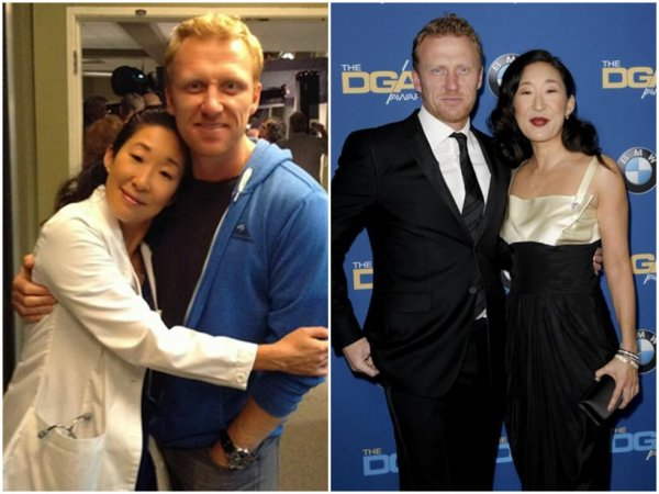 Owen Hunt (Kevin McKidd ) & Cristina Yang (Sandra Oh)