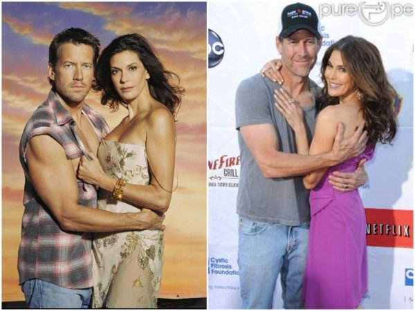 Susan Delfino (Teri Hatcher) & Mike Delfino (James Denton)
