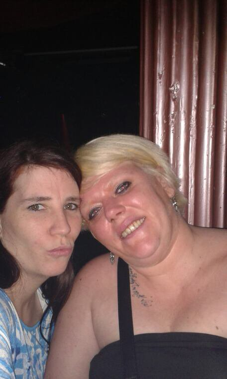 Une pote et moi au barocco le 04/01/2014