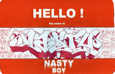 HELLO MY NAME IS....!