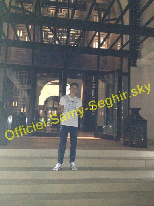Mon nom est Samy Seghir, tu vois ou pas ;)