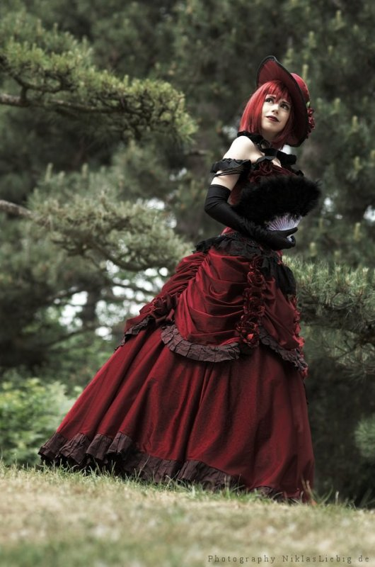 Cosplay - Mme Red ( Black Butler, Kuroshitsuji )