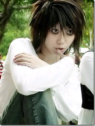Cosplay - L ( Death Note )