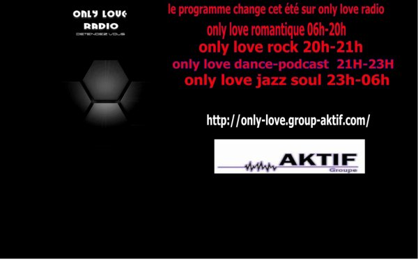 ONLY LOVE les programmes se lance dans la grande vague du son