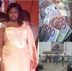 A Talangaï, Claudia Sassou Lemboumba bourre les poches des électeurs de billets de banque pour s'attirer leur vote. Shocking.
