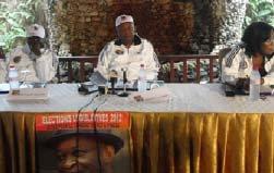 Elections législatives : Aimé Emmanuel Yoka a expliqué les raisons de sa candidature à Vindza