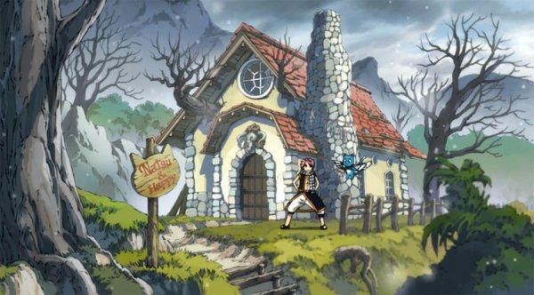 L'oiseau  de Fairy Tail [Chapitre 1]