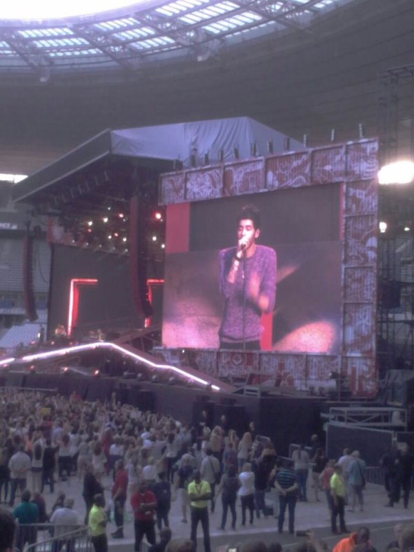 Concert 21 juin ONE DIRECTION