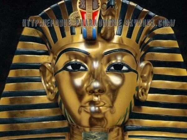 Le masque Mortuaire de Touthankamon