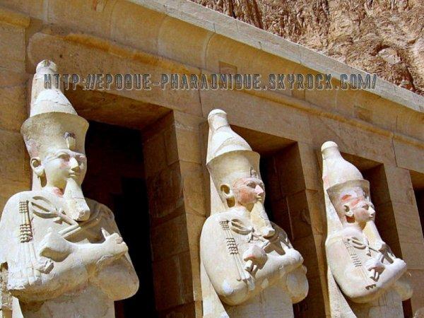 Le temple de Seti 1er à Abydos