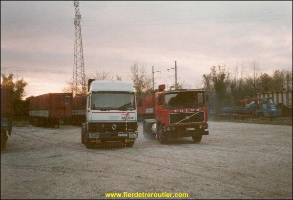 TRC  .transports routier Chavassieux  établi a verlieu42...aujourd'hui fermé depuis 1990..et ensuite les transports Jury a Condrieu 69 entreprise fermée aussi ....