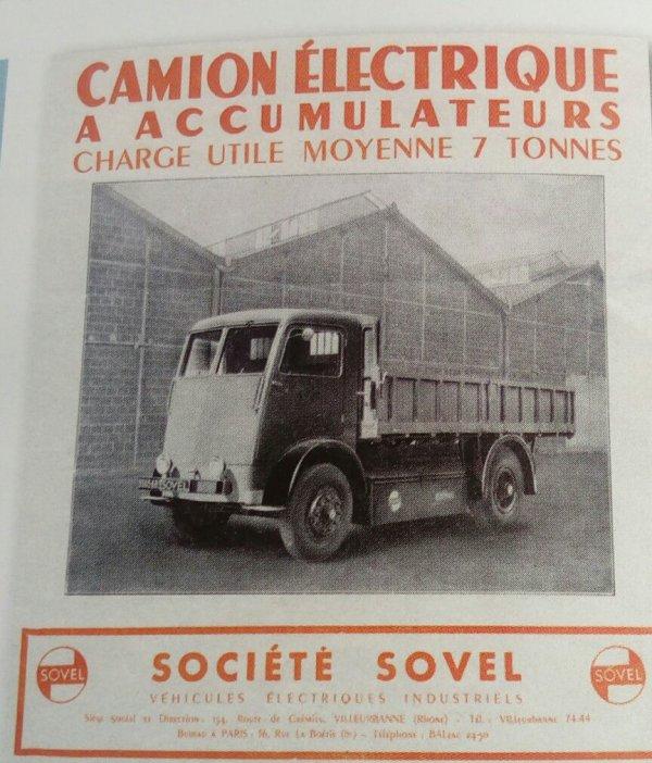 LES CAMIONS ÉLECTRIQUES SOVEL !!! ARTICLE  TIRÉ DU MAGAZINE DE LA FONDATION BERLIET NUMÉRO 176 DE JUIN 2016!!!