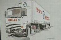LE TR 280 !!!ET LE TR 340 2 GÉNÉRATIONS DE CAMIONS  !!!