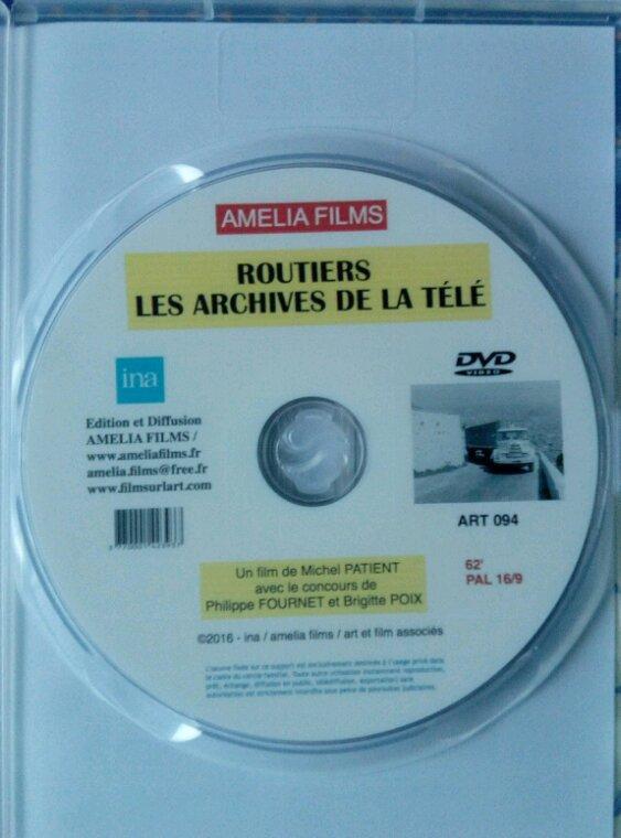 DVD ROUTIERS LES ARCHIVES DE LA TÉLÉ !! REÇU HIER !!
