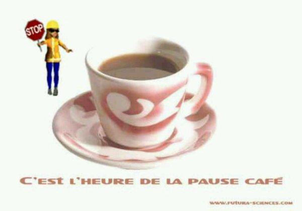 UN BON CAFÉ  AU RELAIS DE LA MAISON BLANCHE !!! POUR SE RÉCHAUFFER !!