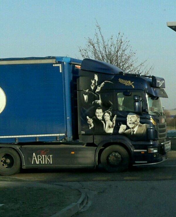 SCANIA  STARS DU  CINÉMA !! AZERGUE TRANSPORT!!