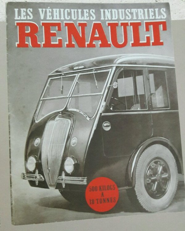 PUB RENAULT !!! DU LIVRE  DE LA FONDATION BERLIET !!
