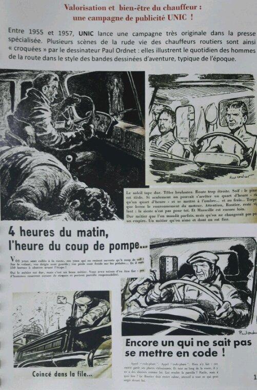 LA VIE À LA DURE  DES ROUTIERS DES ANNÉES 1950 À  70!! ILLUSTRATIONS TIRÉES DU FASCICULE DE LA FONDATION BERLIET !!