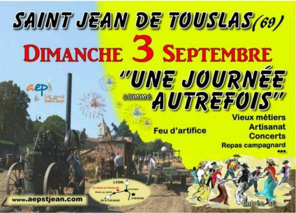 UN TOUR À ST JEAN DE TOUSLAS POUR UNE JOURNÉE COMME AUTREFOIS!!