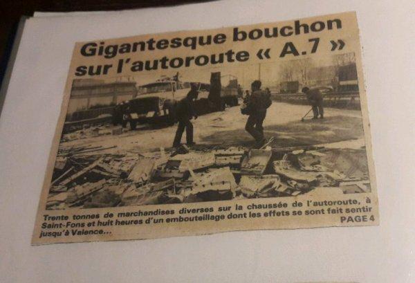AUTRE DÉPANNAGES EFFECTUÉS FIN DES ANNÉES 80!! PAR L'EMPLOYEUR D'ADRIEN!!CLICHÉS TIRÉS DE VIEILLES COUPURES DE JOURNAUX DE L'ÉPOQUE!!