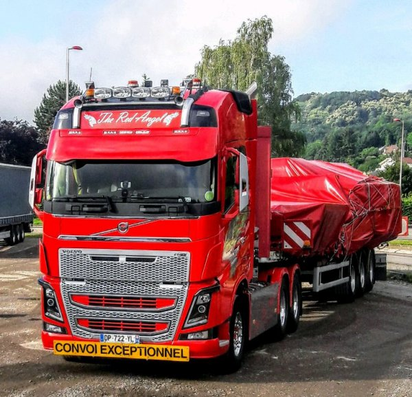 VOLVO FH RED ANGEL!!