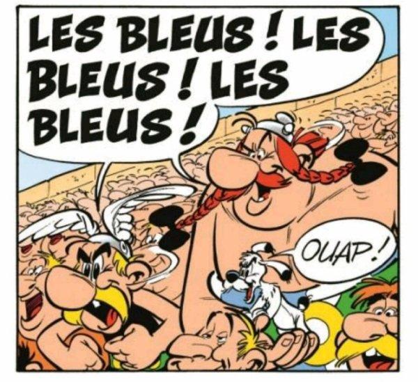 TOUS AVEC LES BLEUS!!