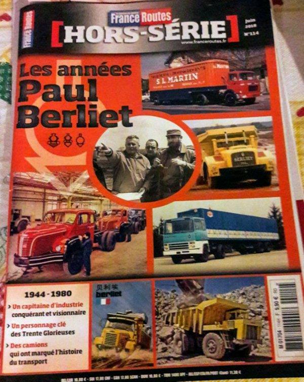 HORS SÉRIE FRANCE ROUTE SPÉCIAL LES ANNÉES PAUL BERLIET!!
