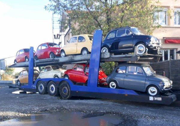 FM500 POUR TRANPORT DE FIAT 500 !!