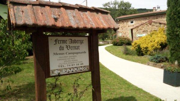 FERME AUBERGE LE VERNAT!!