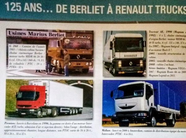 DE BERLIET À RENAULT !!