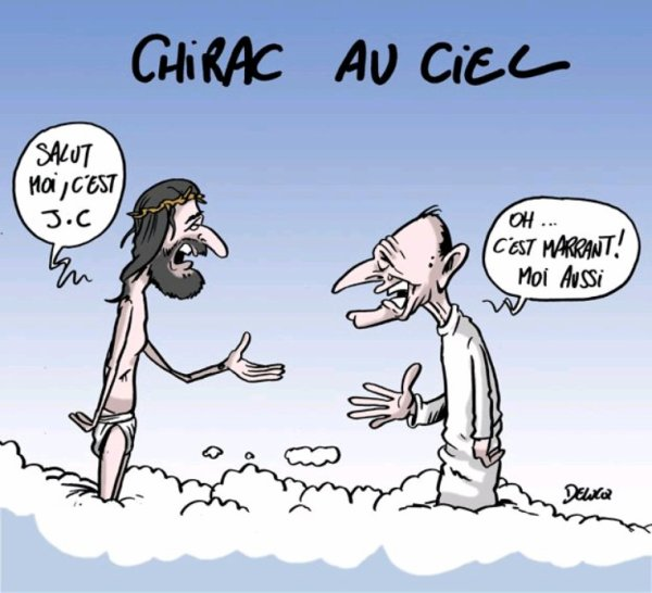 HOMMAGE A CHIRAC !!