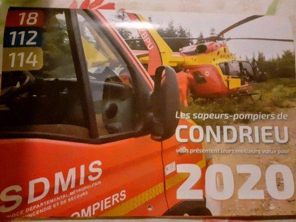 CALENDRIER DES SAPEURS-POMPIERS  !!