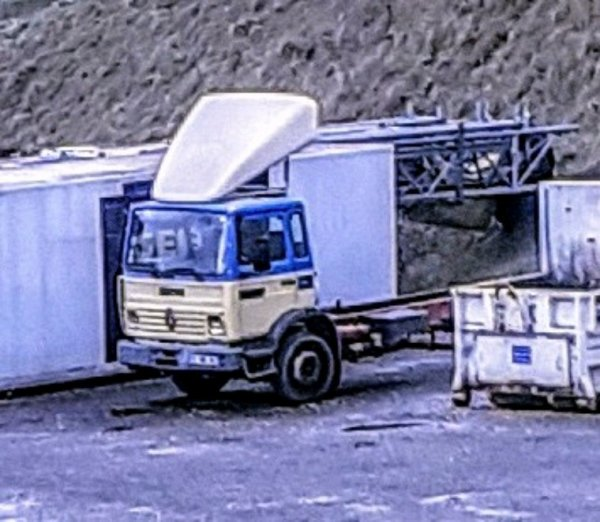 RENAULT CHASSIS NU !!