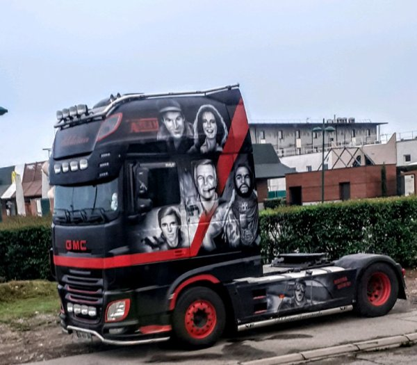 DAF XF AGENCE TOUS RISQUES !!