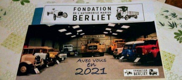 CARTE DE V¼UX DE LA FONDATION BERLIET!!