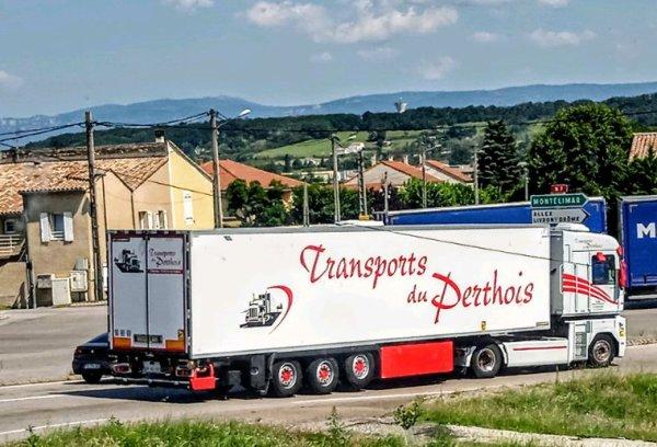 RENAULT MAGNUM TRANSPORTS DU PERTHOIS !!