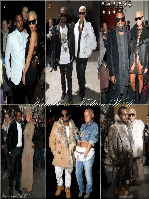 Voici un montage de Kamber durant la Fashion Week 2010 à Paris ! Que pensez- vous de ces tenues ? Choisissez votre ou vos tenues préférées !