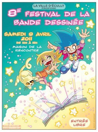Affiche de festival BD 2011 !!!!! ^_^