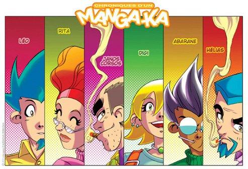 Chroniques d'un Manga-Ka ( Les persos de ma BD ) !!!!!!!!! ^_^