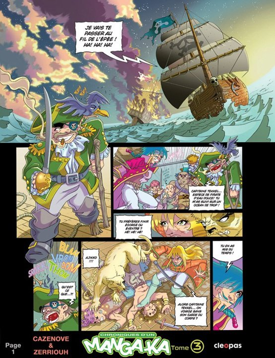 Chroniques d'un Manga-Ka Tome 3 ( Page 1 ) !!!!!!!!!!! ^_^