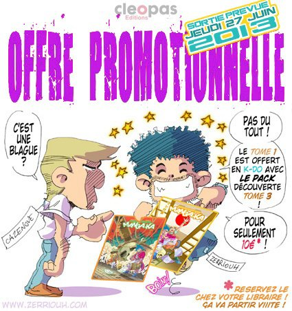 Chroniques d'un Manga-Ka ( PROMO ) !!!!! ^_^
