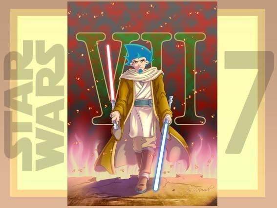 Star Wars 7 !!!!!  ^_^ By Zerriouh .... Vu au ciné en 2D et 3D  ^_^