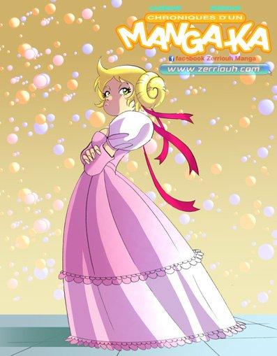 Princesse ...Manga-Ka! !!!!!!!! ^_^ Zerriouh Cazenove