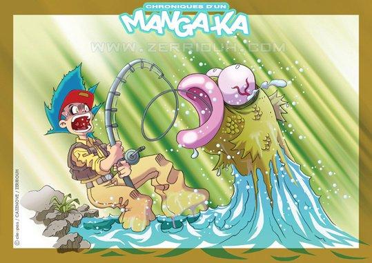 Poisson d'Avril !!! Chroniques d'un Manga-Ka ( FISH ) !!!!!! ^_^