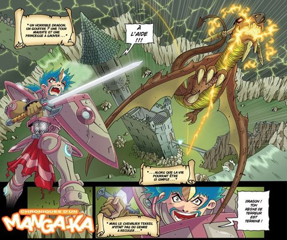 Chroniques d'un Manga-Ka ( Dragon T2 ) !!!!! ^_^ Zerriouh Cazenove