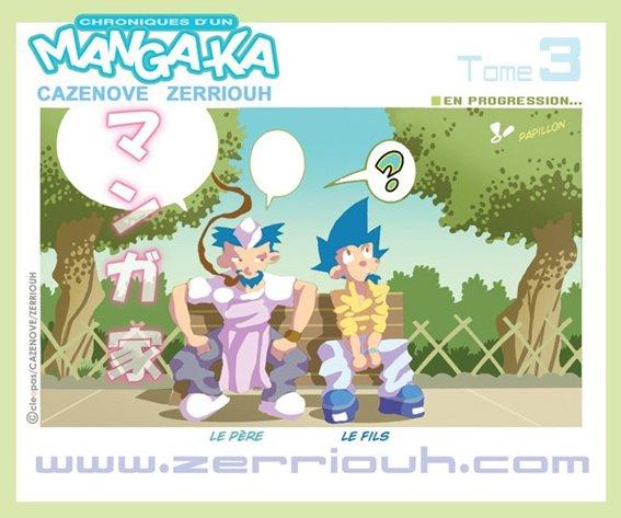 Chroniques d'un Manga-Ka ( Colo ) !!!!!!! ^_^