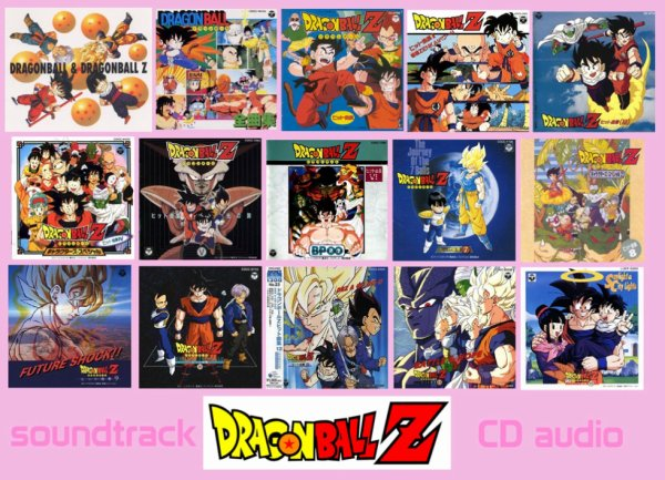 "CD ""musik"" Dragon Ball !!!!! ^_^"