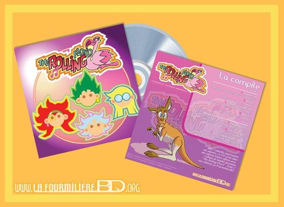 CD The Rolling Floyd en préparation: Seulement pour ceux qui ont commandés la BD sur Ulule ! ;)!!!!!!