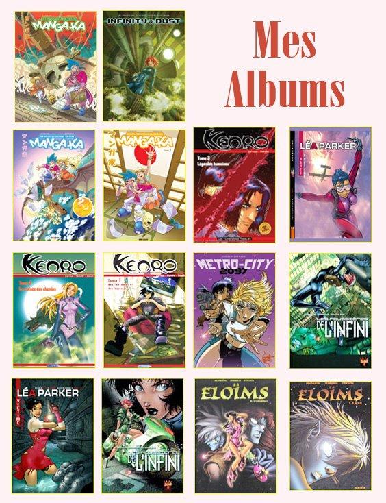 Mes albums... Zerriouh auteur Pro. depuis 2001 !!!!!! ^_^ '